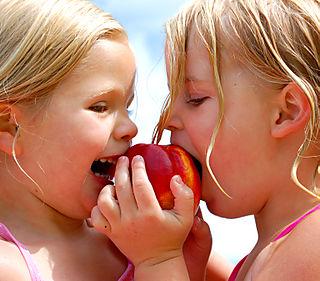 Lake chelan sharing fruit1