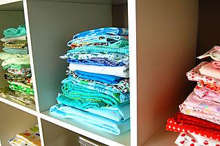 Sewing corner fabric stack1