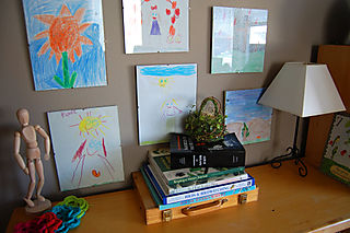 Homeschooling nature shelf01