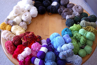 Yarn rainbow2008-12-13