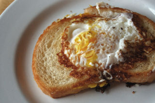Toast with egg2009-01-15