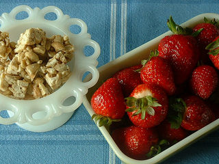 Strawberries and nuts