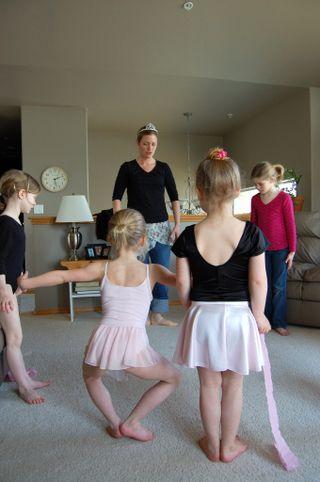 Ballet lesson hannah plie2009-03-18