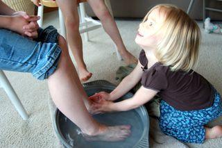 Feet washing2009-04-08