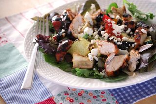 Grilled veggie salad2009-05-27