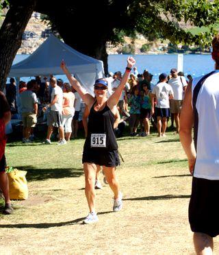 Hooray the finish2009-07-18