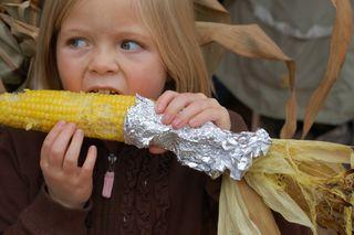 Hannah corn2009-10-09