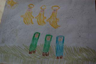 Emma's chrismas art2009-12-14