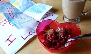 Rasberryyogurt
