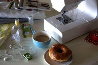 Sewing set up