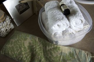 Hombirth set up washclothes