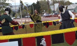 Renissance faire fencing