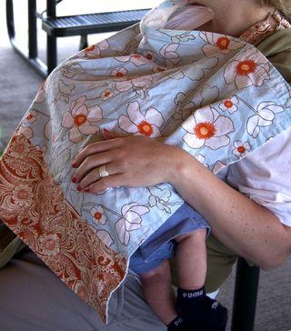 Nursing cover up