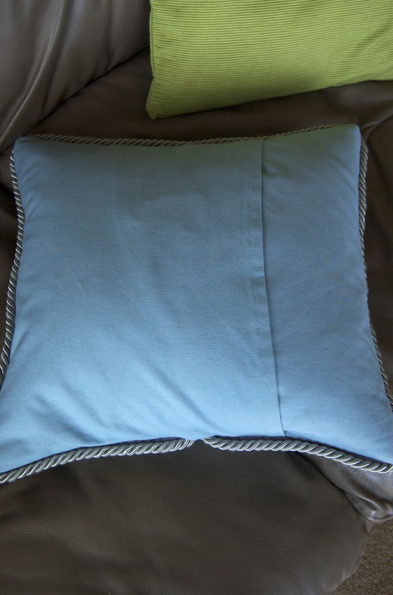 New pillow back