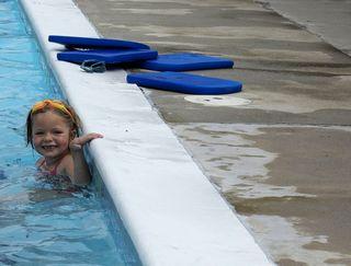 Hannah 7 swim lesson