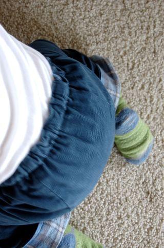 Pants problem sitting