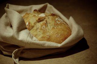Bread bag open