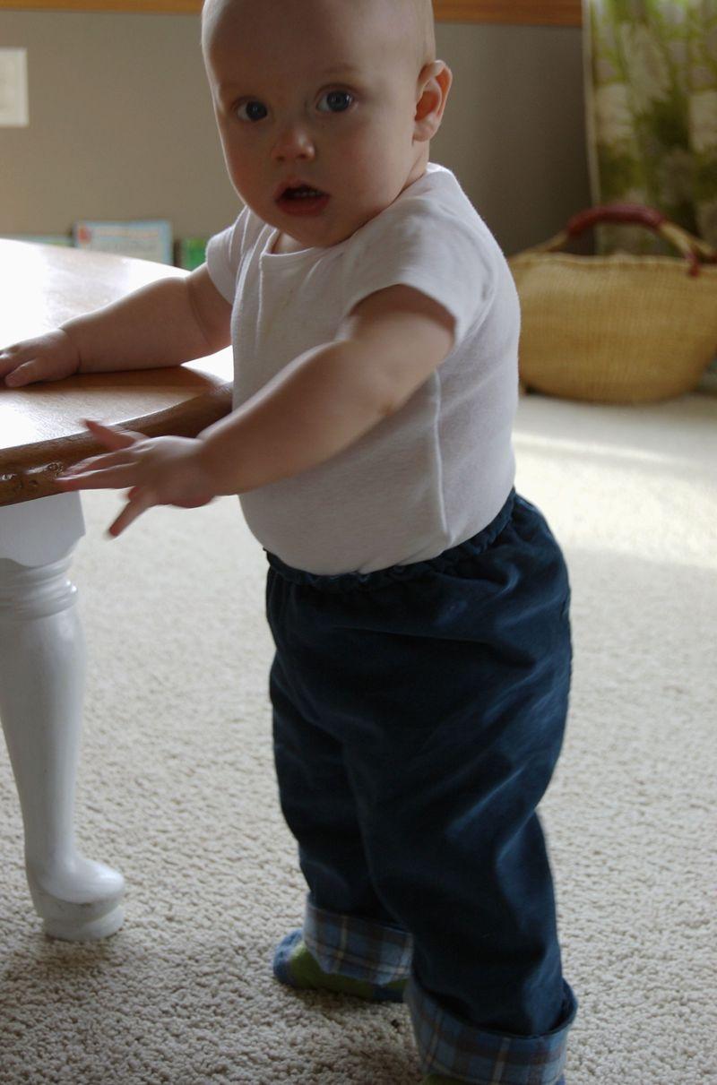 Pants problem standing