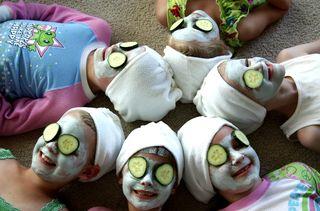 Heads together mask