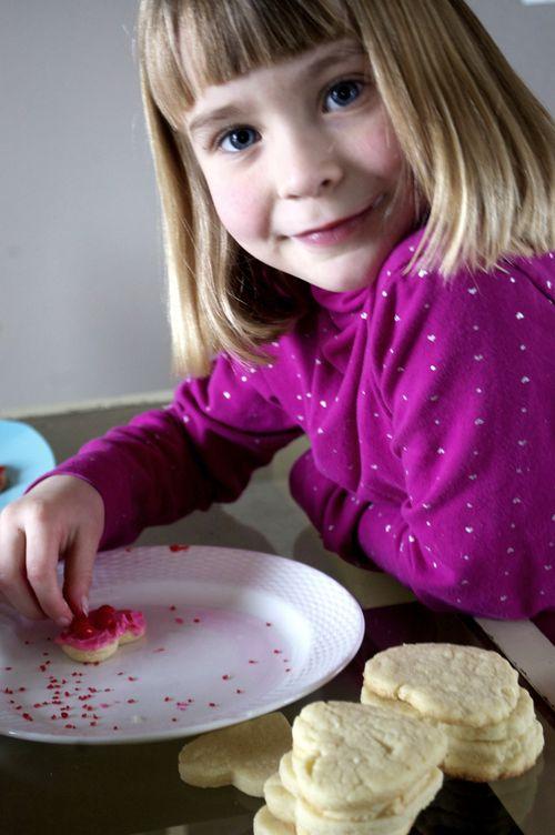 Valentines' cookies Laurel