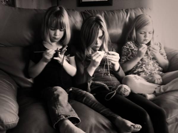 Girls crochet