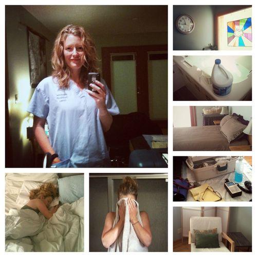 Birth collage