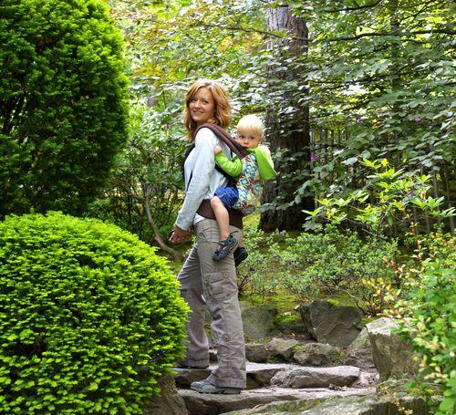 Manito park ian and mom