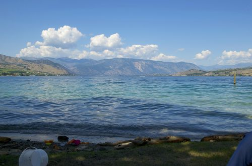 Lake chelan- beach