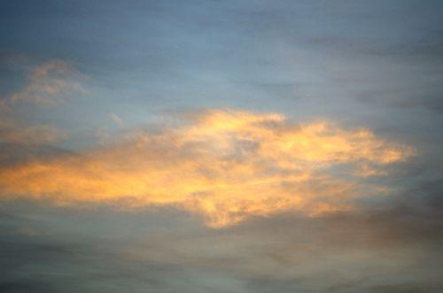 Evening walk- sky
