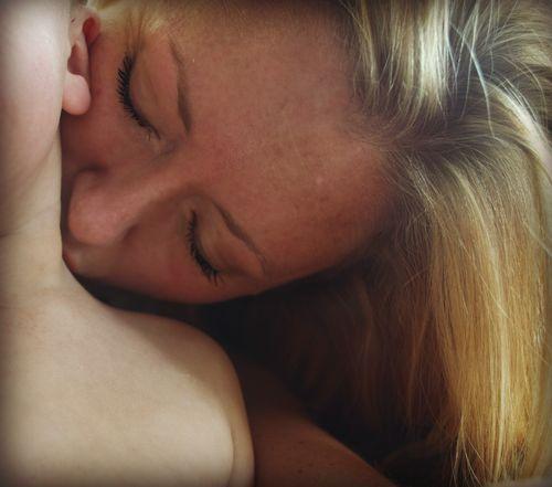 Kissing ian's neck