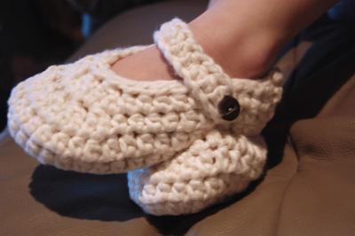 Crocheted Slippers Pattern